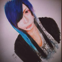 #Rio  #vkei #GAGA  #art #JRock #FanArt #watercolor #drawing #Japan