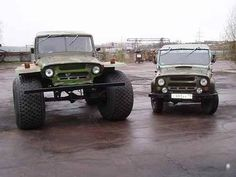 big and little uaz