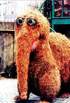 Mr. Snuffleuphagus ... my dad used to make pancakes shaped like Snuffy for me every Sunday morning :-)