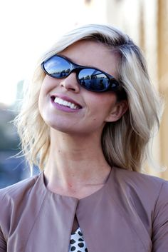 Binya Brown Feather fitover sunglasses by Jonathan Paul® Fitovers are made with unparalleled technology specifically to wear comfortably over prescription glasses... and they look GREAT. Definitely not your grandparents' fitovers!