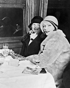 Greta Garbo with Her Mother Upon Her Arrival in Her Native Sweden Candid Photo | eBay