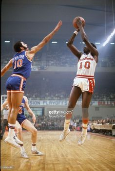 Earl Monroe and Walt Frazier (Baltimore Civic Center)