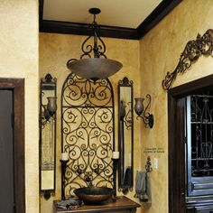 more wrought iron wall decor