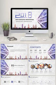 2018 tím gió vào chức huấn luyện viên thương mại PPT mẫu#pikbest#powerpoint Powerpoint Format, Powerpoint Design Templates, Powerpoint Word, Presentation Templates, Ppt Template, Business Design, Business Style, New Employee Orientation, Induction Training