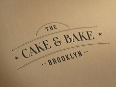Vintage Logo Template bar cafe patisserie template bakery coffee steakhouse restaurant logo vintageBest Picture For Identity Design letterhead For Your TasteYou are looking for something, and it is going to tell you exactly what you are looking for Cake Branding, Logo Branding, Branding Design, Bakery Packaging, Corporate Branding, Menu Design, Brand Identity, Dessert Logo, Cake Logo Design