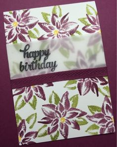 Non - Christmas Reason for the Season and Tin of Card Stamps and Into the Wood Cotton Ribbon Birthday Card using Stampin' Up! Products #stampinup for a full details please visit my blog http://ellenthehappystamper.blogspot.com.au