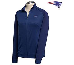 Great for when you need an extra layer at the game. Cheer on the New England Patriots in comfort, wearing this slightly fitted jacket. Made of soft, breathable Drytec micropolyester, the jacket has the Patriots logo embroidered on the upper left chest. From Cutter & Buck. QVC.com
