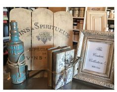 These are samples from my upcoming Paint Couture™ classes!  Please visit the events tab at Laurennicoleinc.com for details! #paintcouture #laurennicoledesigns #paintedfurniture #homedecor #vintagebooks #imagetransfer