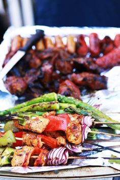 food for forth of july BBQ | Gourmet Baking: 4th of July BBQ and Trio of Sorbet