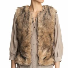 BB Dakota Fur Vest In great condition. BB Dakota Jackets & Coats Vests
