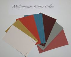 Spanish-style Interior Paint Colors | Mediterranean Interior Colors 300x245 Thoughts about Interior Color