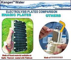 Enagic's premier Kangen Water Machine has been the Leveluk SD501 PLATINUM 5-LANGUAGE for some time (Purchase from DianaHouk.com). On January 2015 Enagic upgraded their product line to include the Leveluk Kangen 8 (K8). 8 platinum-dipped titanium plates! This additional electrode plate increases the electrolysis surface area. Buy Kangen www.DianaHouk.com