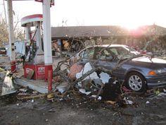 The Branson Tornado damage of 2012