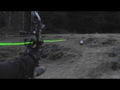 ▶ Shooting carbon arrows with lighted nocks from a compound bow - YouTube