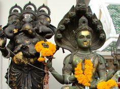 Kala Ksetram, Vishnu and Shiva deities, Thailand