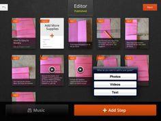 Snapguide - ett enkelt sätt att skapa och dela instruktioner. Det innebär att kunna skriva en instruktion.