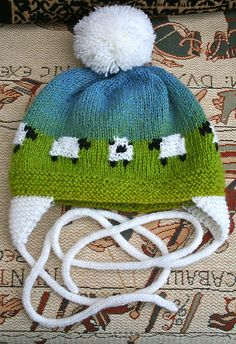 Baby Sheep Hat pattern by Melissa Burt- Baby Sheep Hat free knitting pattern and more sheep and lamb knitting patterns - Knitting For Kids, Baby Knitting Patterns, Knitting Yarn, Free Knitting, Crochet Patterns, Yarn Projects, Knitting Projects, Crochet Projects, Knit Or Crochet