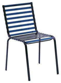 Striped Stapelbarer Stuhl – Magis