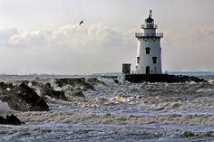 Lighthouse in Saybrook, Ct.