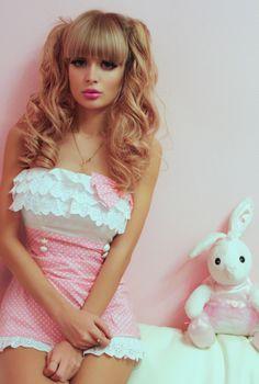 Anzhelika, the barbie girl I love her hair.