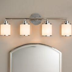 Contemporary Urban Bath Vanity Light - 4 Light chrome