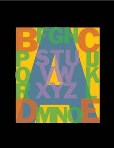 Alphabet No. 42 Franklin Gothic Transparent.