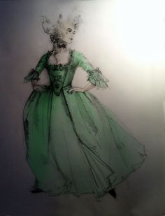 Amadeus (Katherina). Maltz Jupiter Theatre. Costume design by Fabio Toblini.