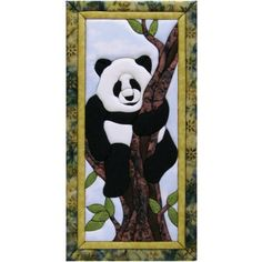 Panda quilt kit for hanging on a wall, love it...most importantly Lily would love it:)