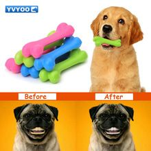 Yvyoo Tpr Pet Toys Teddy Puppy Dogs Toy No Poison Health Chew