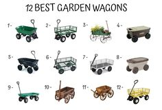 Best Garden Wagon: Buying Guide & Recommendations - Home Furniture Design Garden Wagon, Home Furniture, Furniture Design, Wheelbarrow, Amazing Gardens, Summer, Decor, Summer Time, Home Goods Furniture