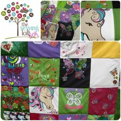Tee Shirt Memory Quilt |Easy How to create a Memory Quilt