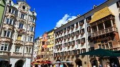 innsbruck-goldenes dachl, złoty dach #architecture #oldtown #innsbruck #goldenesdachl #goldenroof Innsbruck, Old Town, Architecture, Architecture Illustrations