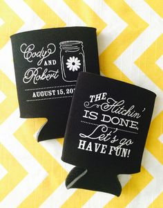 Hey, I found this really awesome Etsy listing at https://www.etsy.com/listing/178057949/mason-jar-wedding-koozies-200-count