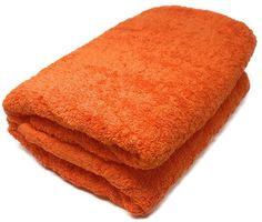 Orange Oversize Bath Towel