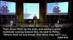 """One of my most FAVOURITE talks of all time. @Judah Sleep Smith is witty, insightful, and hilarious.  """"Jesus Is My Provision"""" - Judah Smith"""