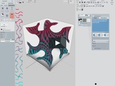 Demo showing various methods for defining three-dimensional mesoscopic patterns which are distributed throughout a volume of material. Monolith is a stand alone voxel-based modeling engine for multi-material printing. Find out more at monolith. Parametric Design, Three Dimensional, Patterns, 3d Printing, Modeling, Engine, Block Prints, Impression 3d, Modeling Photography