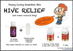 Young Living Essential Oils: Hive Hives Relief