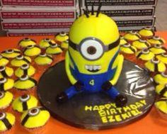Minon cake and cupcakes