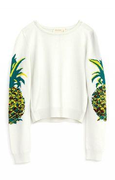 Shop Beyoncé's Tropical Summer Wardrobe via Nicole Miller, Sweater Weather, Pineapple Clothes, Pineapple Outfit, Cute Pineapple, Pineapple Girl, Pineapple Tattoo, Summer Outfits, Cute Outfits