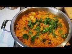 FATIMA SYDOW'S CHICKEN AHKNI - YouTube Real Food Recipes, Chicken Recipes, Snack Recipes, Snacks, South African Recipes, Ethnic Recipes, Briyani Recipe, Biryani, Rice Dishes