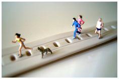 Joggers 6x4 Miniatur