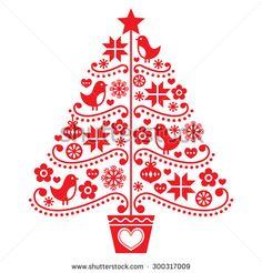 Christmas Tree Logo Design 383698 Vector Clip Art Image