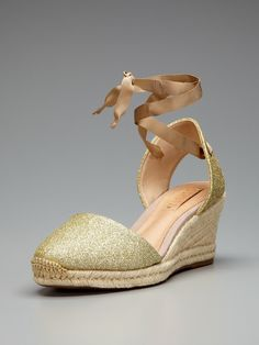 Love wedges! Darcy Espadrille Wedge Sandal by Schutz on Gilt