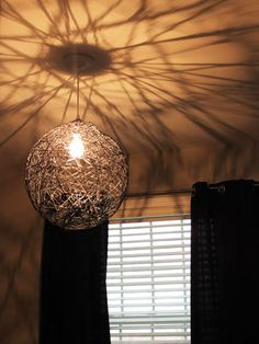 Get the tutorial for this Pendant Lamp from Heroth Home #DIY #bedrooms