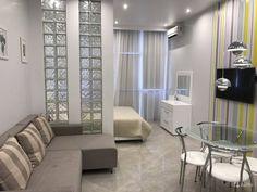 Bedroom design small room hidden bed 28 ideas for 2019 Condo Interior Design, Small Apartment Design, Flat Interior, Studio Apartment Decorating, Apartment Layout, Small Rooms, Small Spaces, Tiny Studio Apartments, Trendy Bedroom
