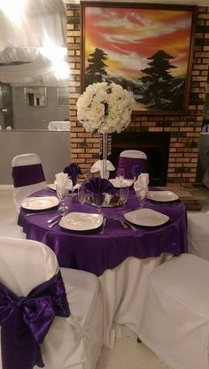 Purple and White | Star Room