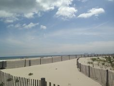 Cape May NJ USA Beach & Ocean