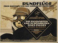 File:1919 Deutsche Luft-Reederei Plakat Rundflüge über Potsdam und das Märkische Seengebiet, Hans Rudi Erdt, Otto Firle.jpg