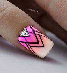 Gun Tattoos, Ankle Tattoos, Arrow Tattoos, Word Tattoos, Print Tattoos, Natural Nail Art, Secret Nails, Les Nails, Abstract Nail Art