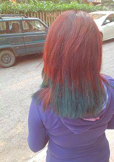 Happy Halloween 31 ottobre 2014 red hair&green chalk